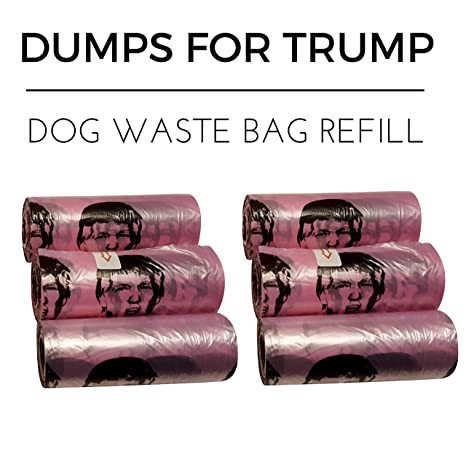 Amazon.com: Dumps for Trump bolsas para cacas de perro: Mascotas