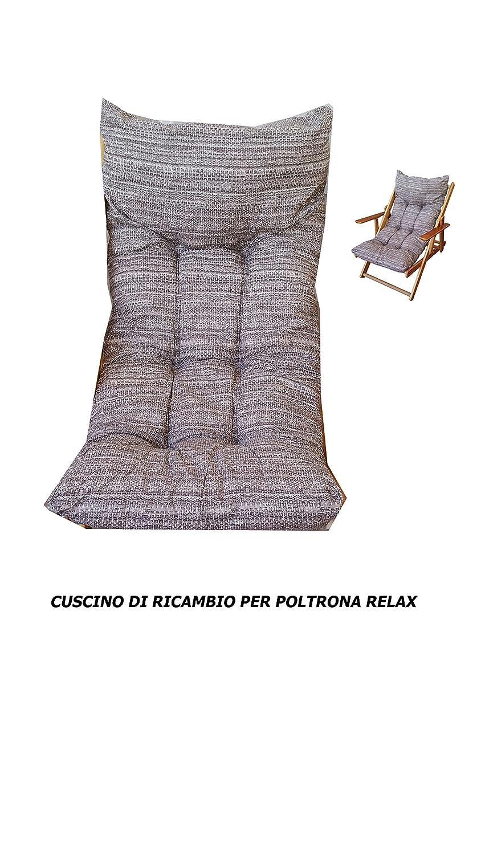 cojines, cojín relleno de repuesto para sillón Tumbona Relax ...