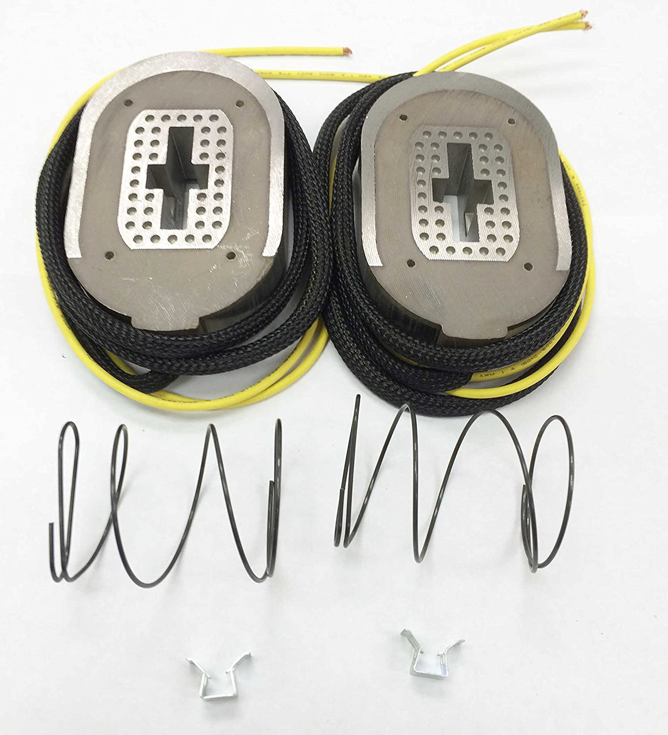 """Two 12-1//4/""""x3-3//8 Electric Trailer Brake Magnet Replacement Kits for 10K axle"""