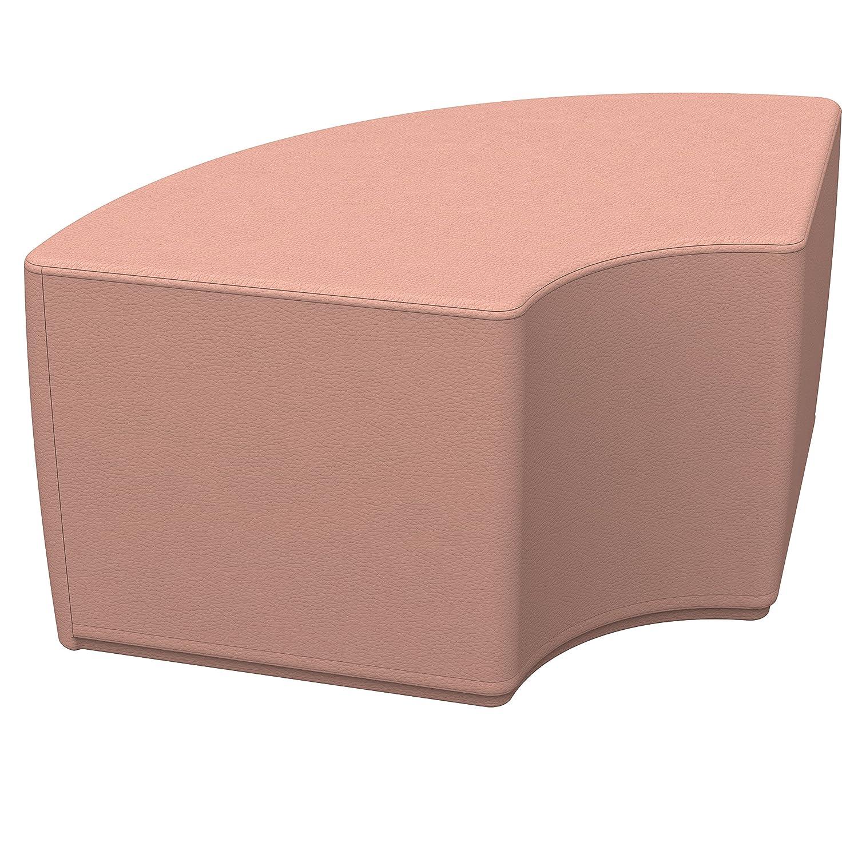 ECR4Kids softzone cuarto de círculo otomana - muebles para niños ...