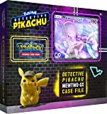 Pokemon TCG: Detective Pikachu Mewtwo-Gx Case File   6 Booster Pack   A Foil Promo Gx Card   A Oversize Gx Foil Card