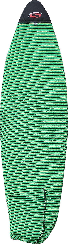 SOLA Funboard Sock 6'7, Unisex, Funboard, Blue Stripe A1603-01