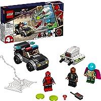 LEGO 76184 Marvel Spider-Man vs Mysterio Droneaanval Superheld Bouwspeelgoed met Auto voor Kleuters van 4+