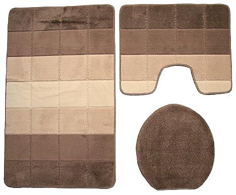 Bagno Marrone Scuro : Pezzi di mobili da bagno marrone scuro set da bagno