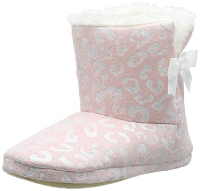 dfb9143313c46 New Look Nelsa, Chaussons Femme - Rose - Pink (70 Pink), Taille M ...