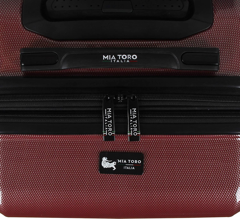 Red Mia Toro Mia Tor Italy Fonte Hardside 24 Inch Spinner