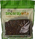Sincerely Nuts Raw Pecans No Shell - Three Lb. Bag - Eaten Fresh -Remarkably Delicious & Cute-Looking - Rich in Healthy Nutrients - Kosher