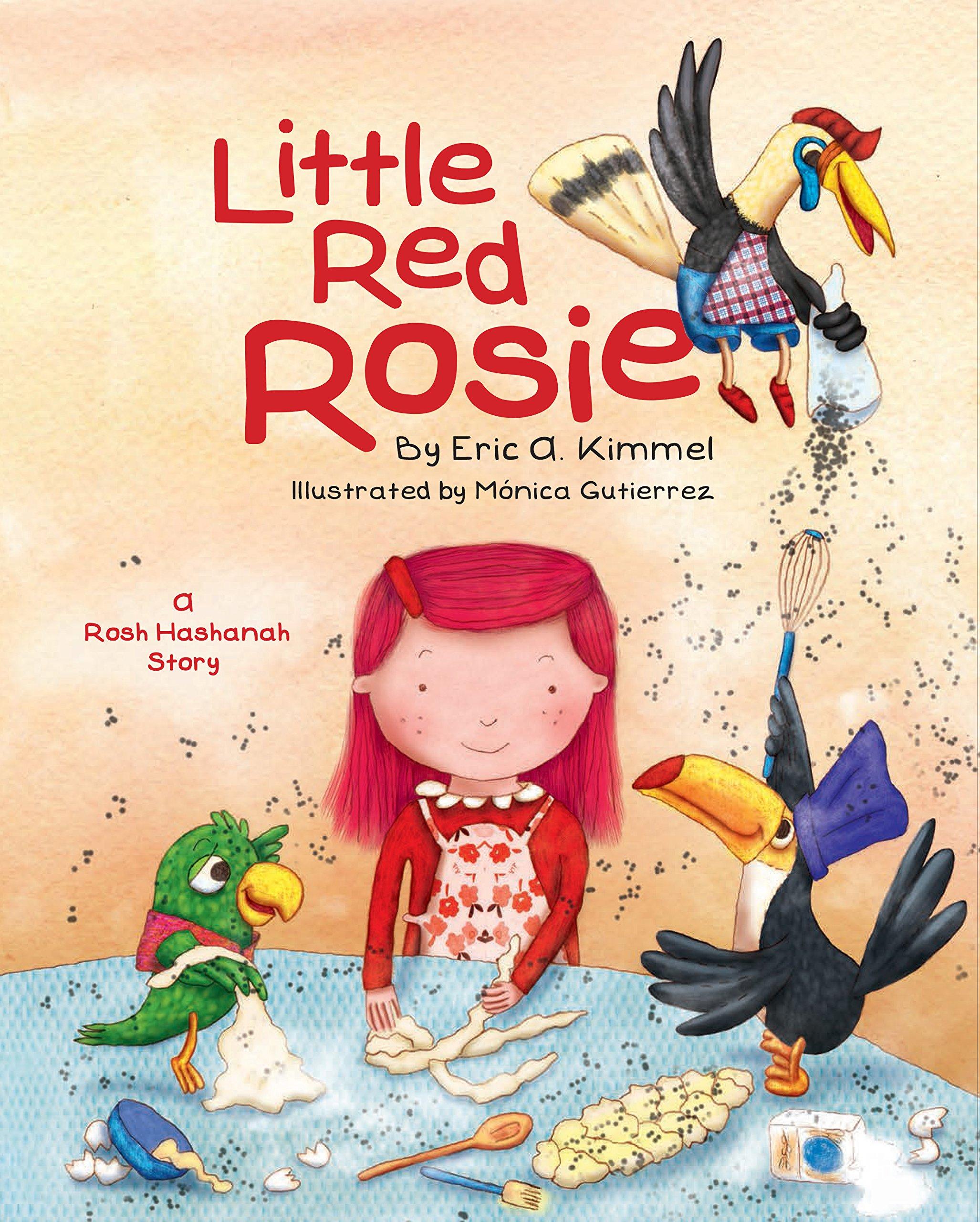 Little Red Rosie Eric Kimmel Monica Gutierrez 9781681155180