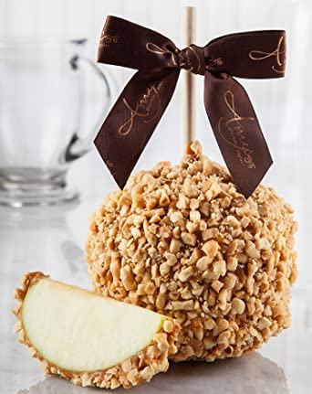 Amazon Com Classic Salted Peanut Caramel Apple Gourmet Food Grocery Gourmet Food