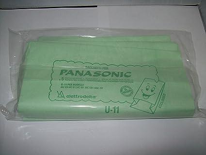 U11 - Lote de 5 bolsas Filtro para Panasonic serie MC E9 ...