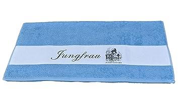 Sternzeichen Jungfrau Badetuch Duschtuch Handtuch Bedruckt 50x100cm