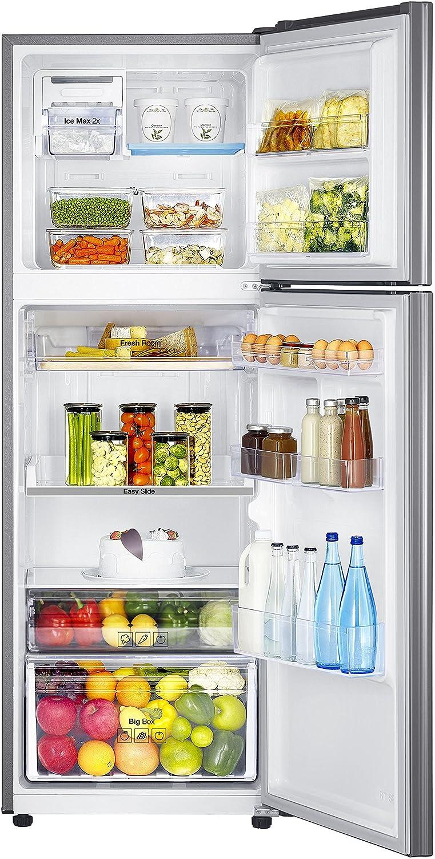 Largest Capacity Refrigerator Samsung 321 L 4 Star Frost Free Double Door Refrigerator