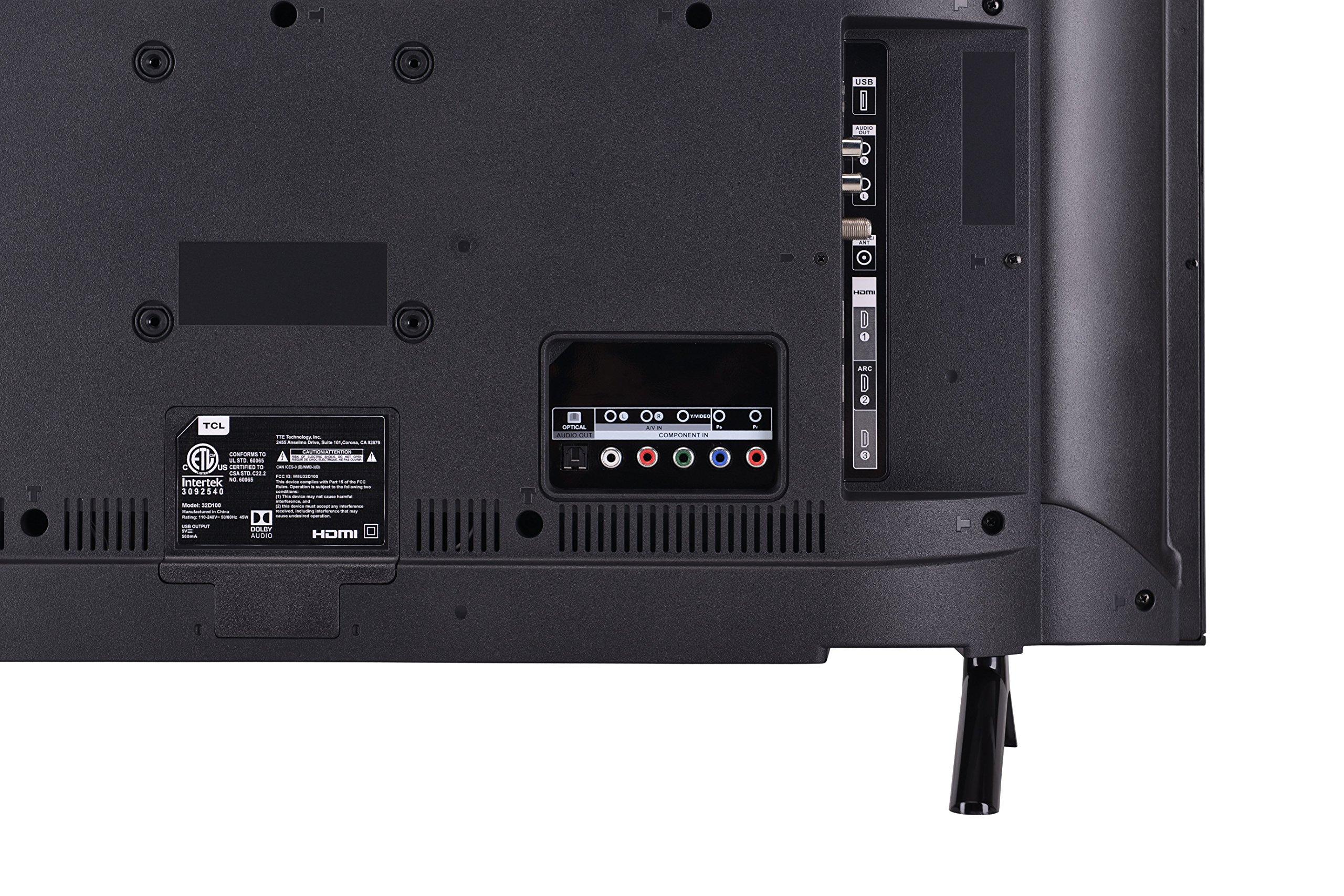 TCL 32'' 720p LED TV (2018) (32D100-B) by TCL (Image #4)