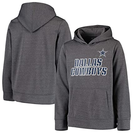 Licensed Sports Apparel Dallas Football Youth Maurice Pullover Charcoal  Hoodie - XXS 402ca0ff2