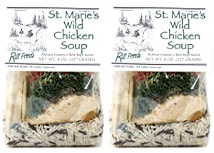 Rill Foods St. Marie's Wild Chicken Soup Mix 8 oz each (2-Pack)