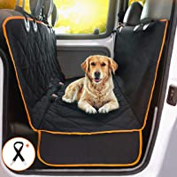 Doggie World Dog Car Seat Cover - Cars, Trucks and Suvs Luxury Full Protector, w/Extra Side…