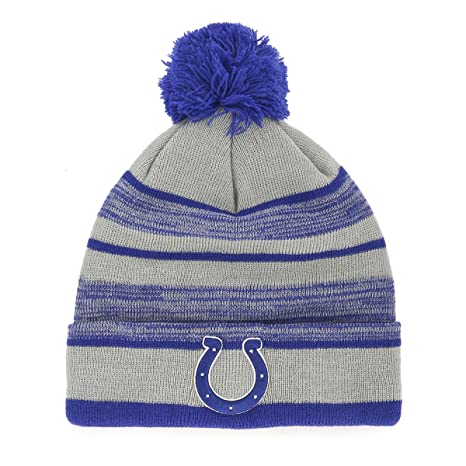 b25a4dd6271 Image Unavailable. Image not available for. Color  NFL Indianapolis Colts  Huset OTS Cuff Knit Cap ...