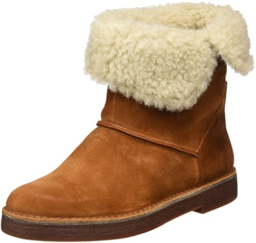 Drafty Haze Tan Suede Leather Boots