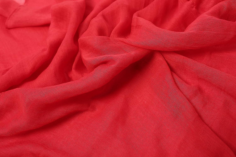 morbida e alla moda Outrip Sciarpa da donna in cotone leggera