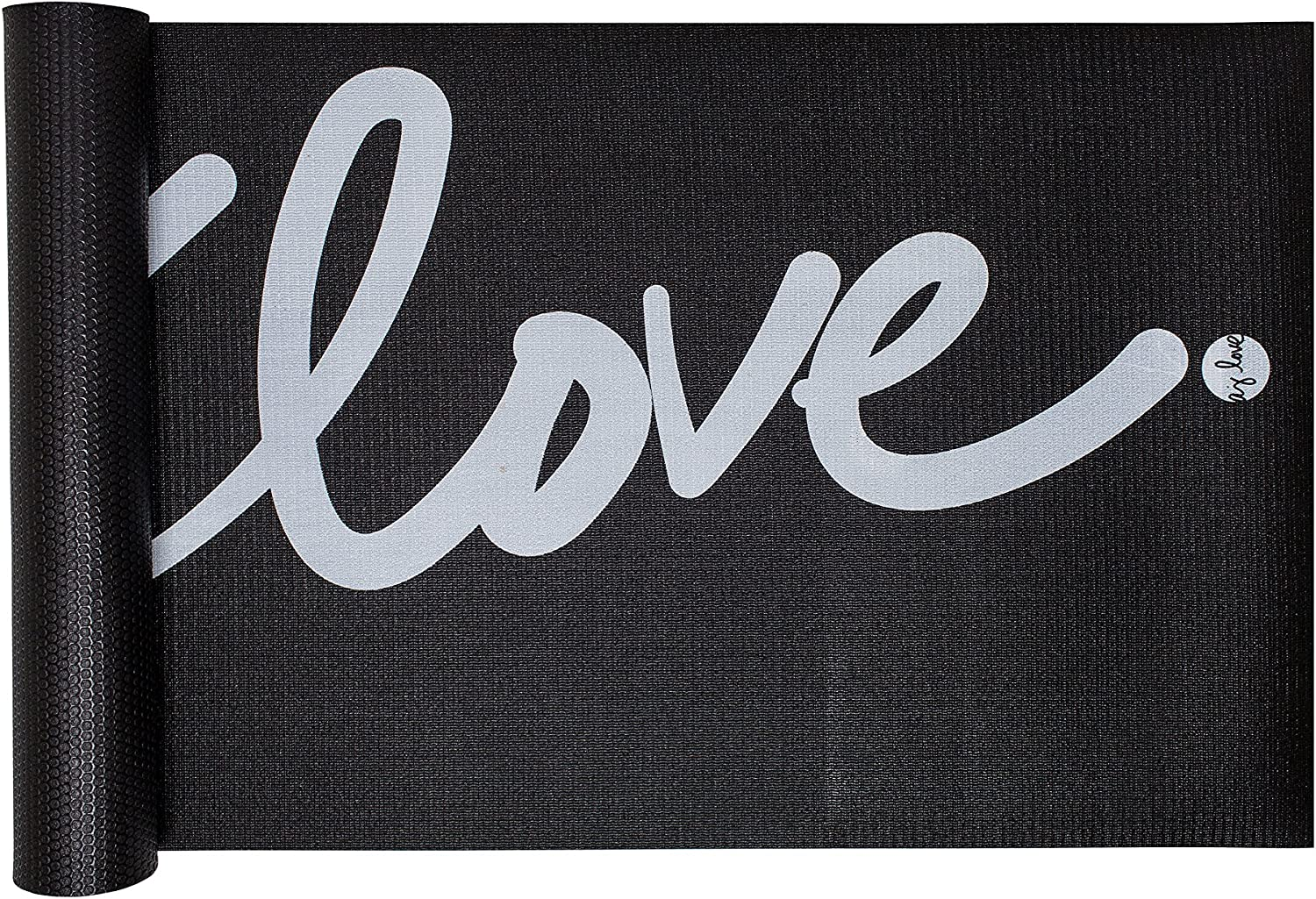 High Density Hand Designed Mantra Inspired Professional Yoga Mat by aj Love