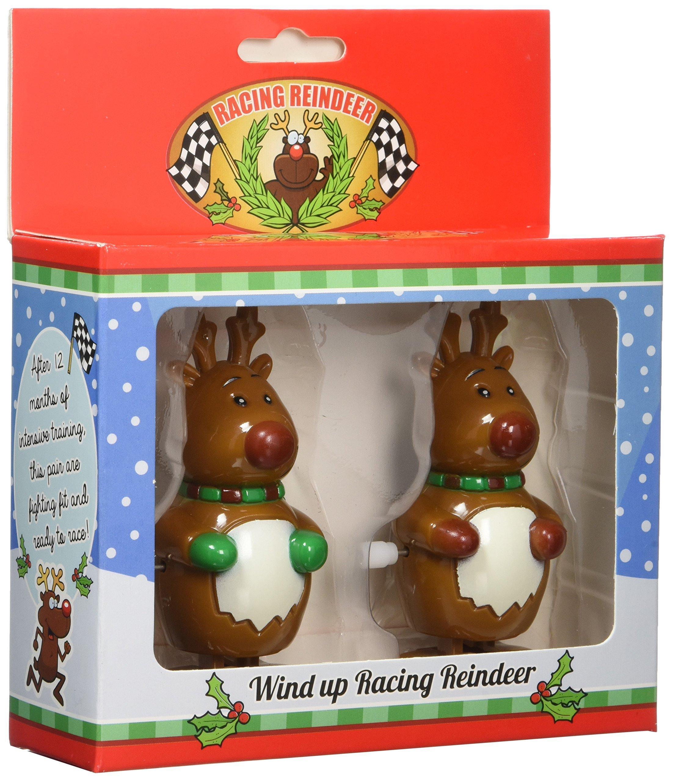Wind Up Racing Reindeer