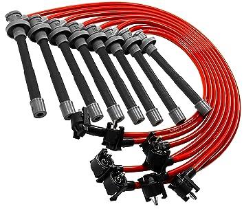 96 – 98 VMS Racing 10,2 mm de alto rendimiento motor encendido Bujías Cables