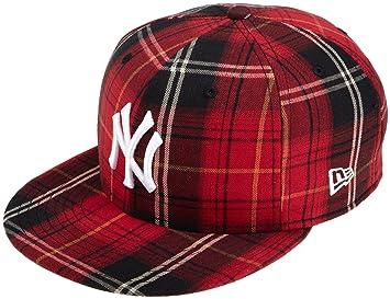 Amazon.com   MLB New York Yankees Tartanic 59Fifty Cap   Sports Fan ... 3a5f3aa14758