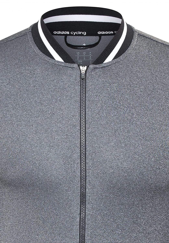 Adidas Cultural Hybrid SS Jersey Men Dark Grey Heather Black White 2016  Camiseta 2e2c2841e