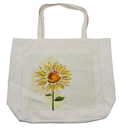 Bolsa de la compra de flores lunares, girasol de verano en ...