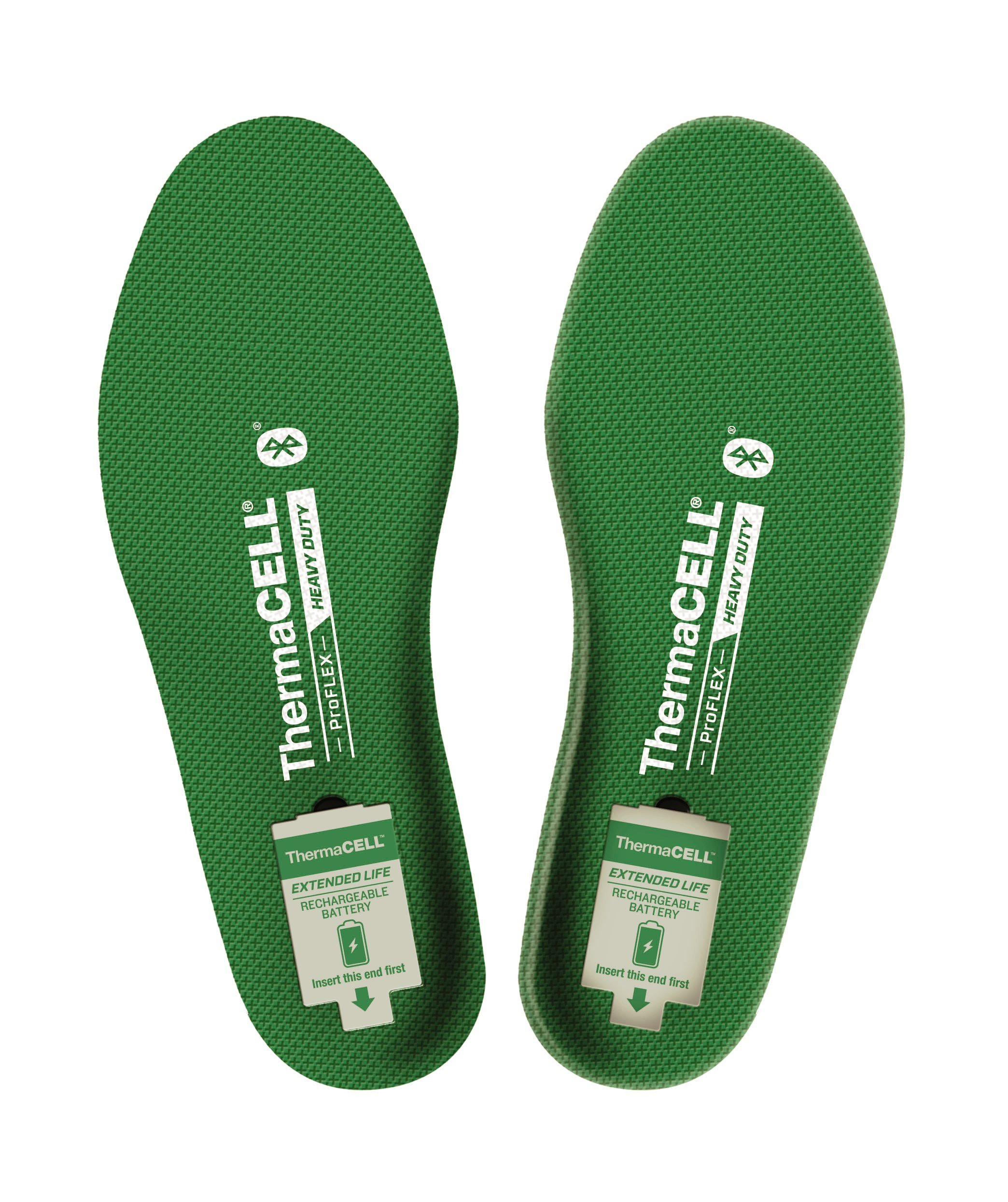 ThermaCELL Proflex Heavy Duty Heated Shoe Insoles with Bluetooth Compatibility, XL by Thermacell (Image #1)