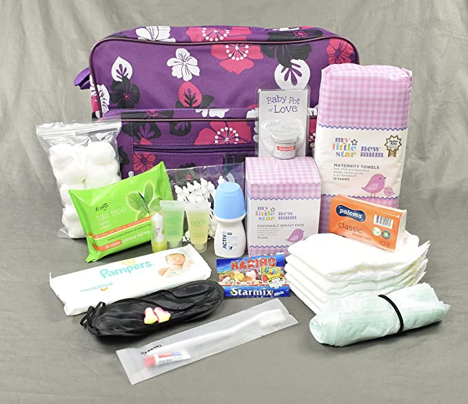 Purely Baby Nappy Bags 5 x Packs of 50 Bags
