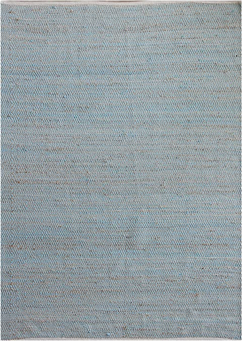 Meubletmoi Alfombra Azul 120 x 180 Rectangular cáñamo y algodón – Étnica Bohemia Chic – Robuste – Devi: Amazon.es: Hogar