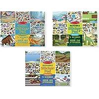Melissa & Doug 93365 Reusable Sticker Pads Set