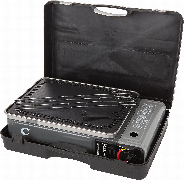 VTK Camping – SuperCook Duo – Grill y plancha portátil de gas ...