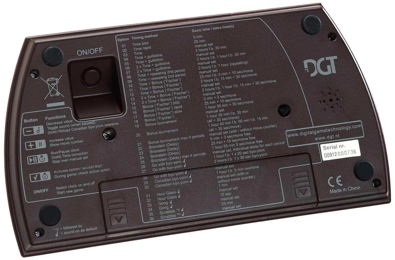 DGT XL Digital Chess Clock Red