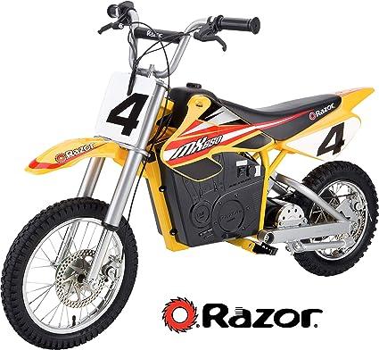 [WQZT_9871]  Amazon.com: Razor MX650 Dirt Rocket Electric Motocross Bike - Yellow:  Sports & Outdoors | Indian Dirt Bike Wiring Diagram |  | Amazon.com