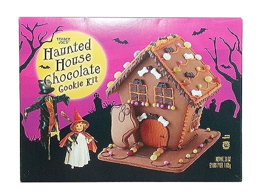 Trader Joes Halloween Haunted House Cookie Kit