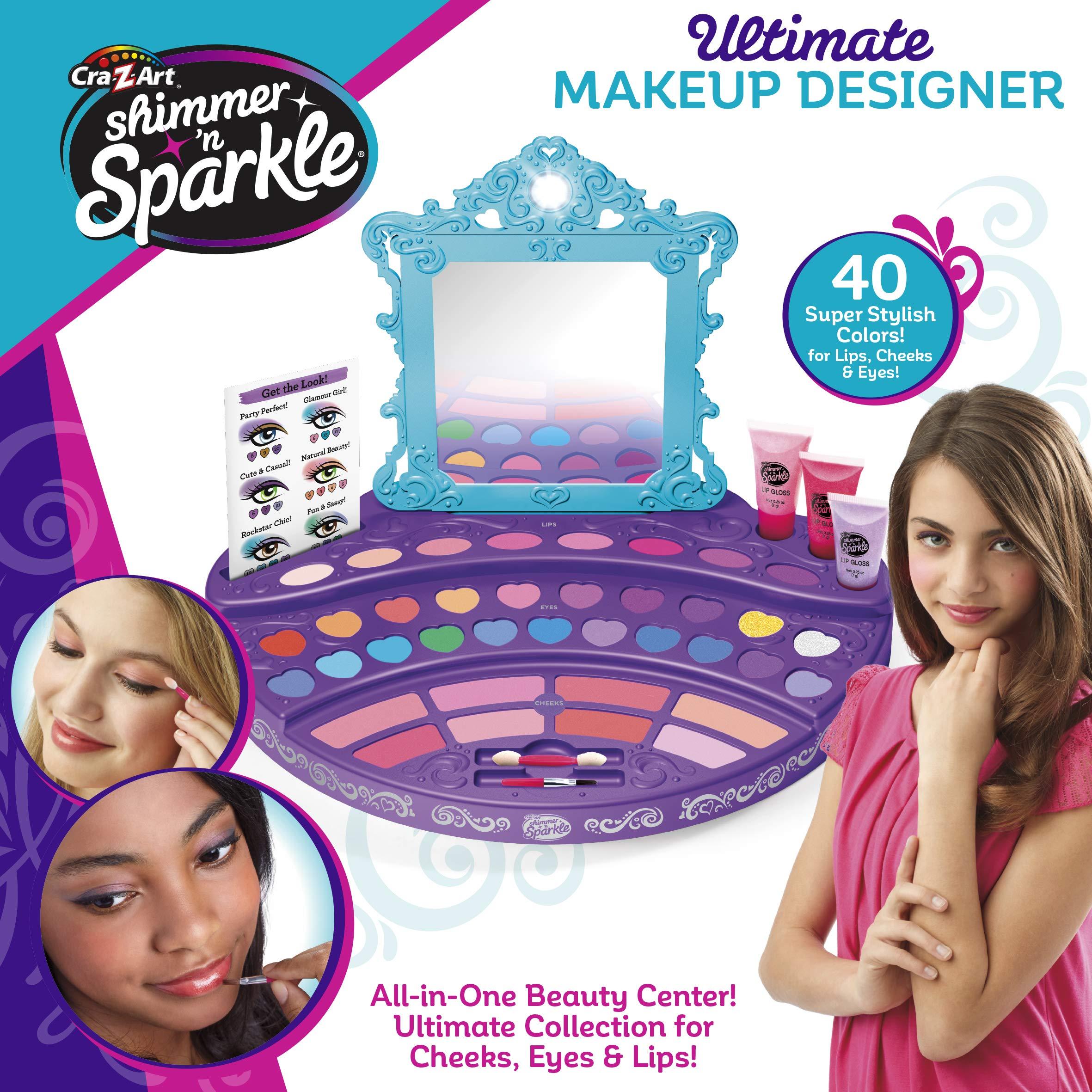 Cra-Z-Art Shimmer 'N Sparkle Ultimate Makeup Designer ...