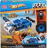 Mega Bloks - Hot Wheels - 91755 - Jeu De Construction - Bolide Et Rampe