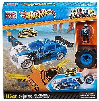 Hot Wheels Coche A La Deriva Juego De Construccion Mega Brands