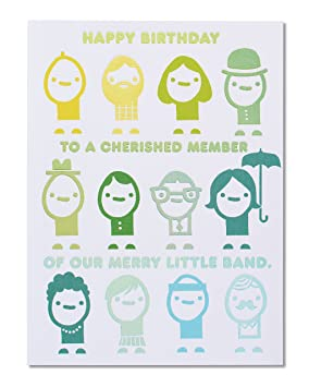 American greetings funny merry little band birthday card from group american greetings funny merry little band birthday card from group with foil 5856748 m4hsunfo