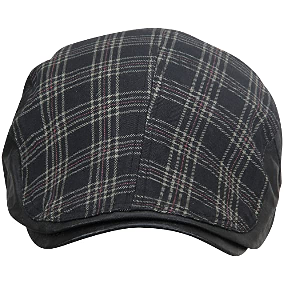 7e1c6711 Fabseasons MC31black Cotton Adjustable Summer Golf Cap, Free Size (Black)