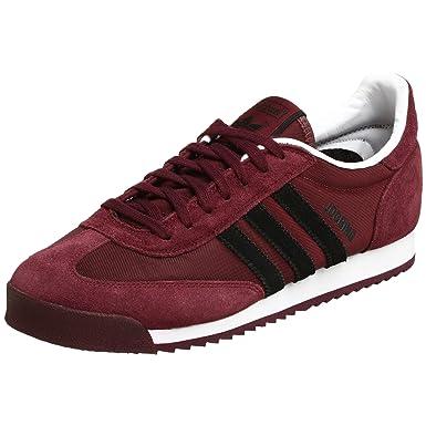 12603b2bb765b Amazon.com   adidas Originals Men's Jogging Sneaker, Maroon/Black ...