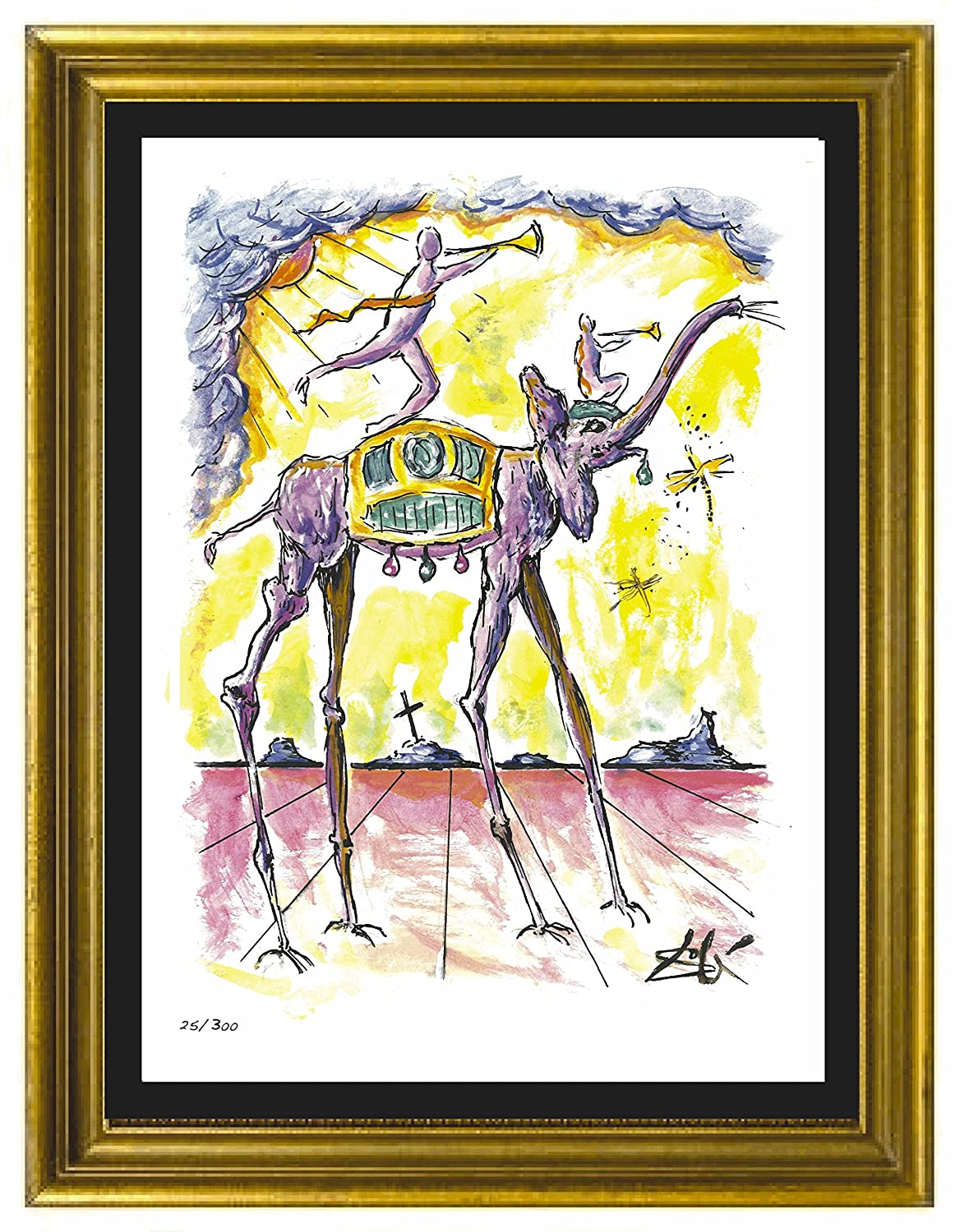 Amazon.com: Salvador Dali Signed & Hand-Numbered Limited Edition ...