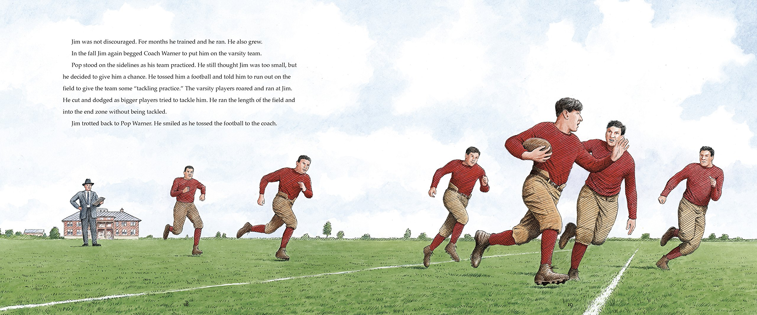 Unstoppable: How Jim Thorpe and the Carlisle Indian School Football Team Defeated Army (Encounter: Narrative Nonfiction Picture Books)