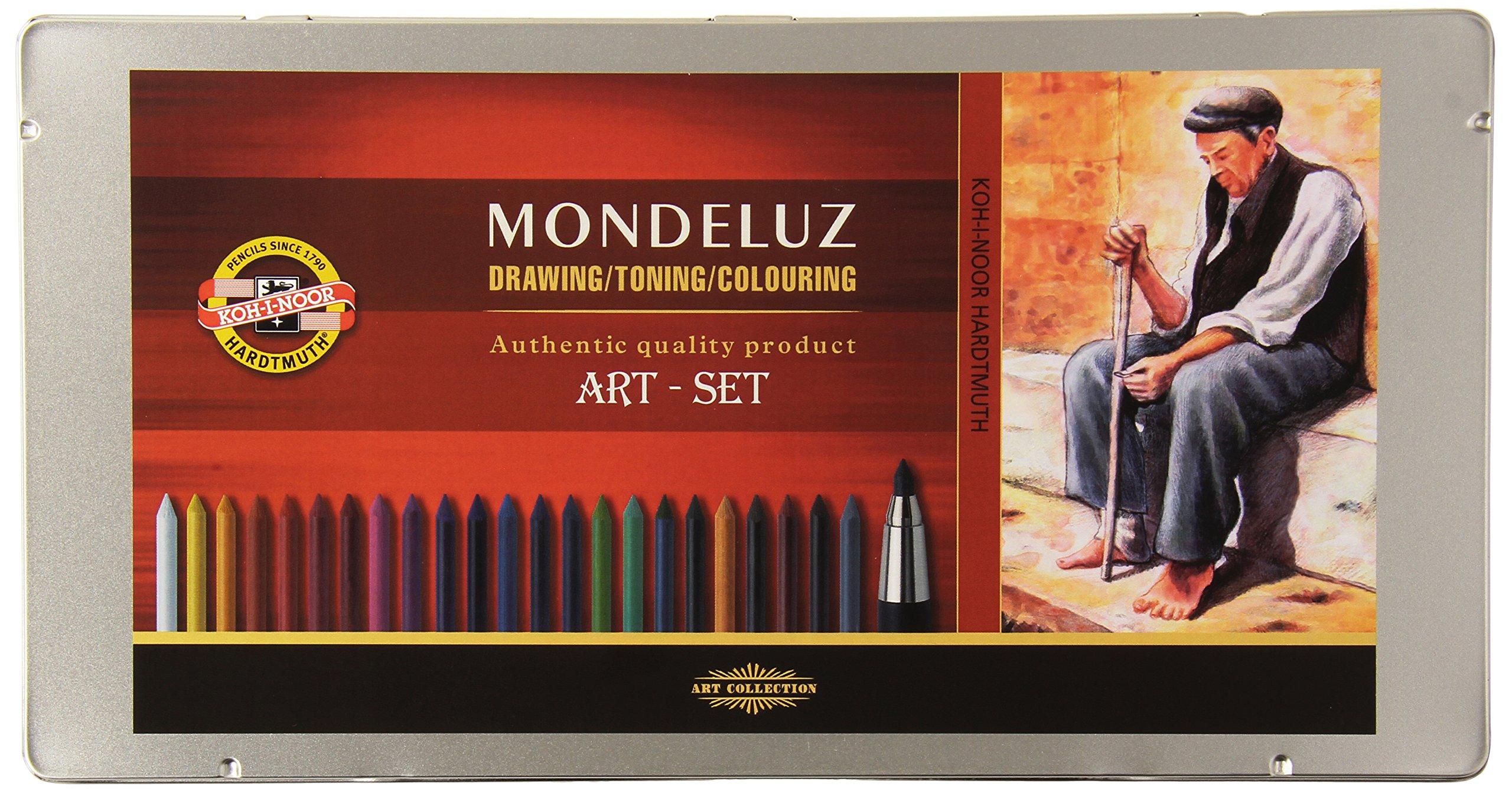 Koh-i-noor Mondeluz 3.8 mm Mechanical Pencils Set. 3796 by Koh-I-Noor Art Sets