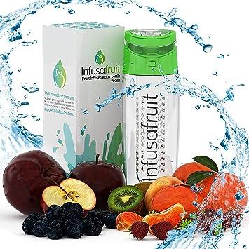 Botella de Agua con infusor de Frutas – Va a Gulp la Pulpa? | Hacer