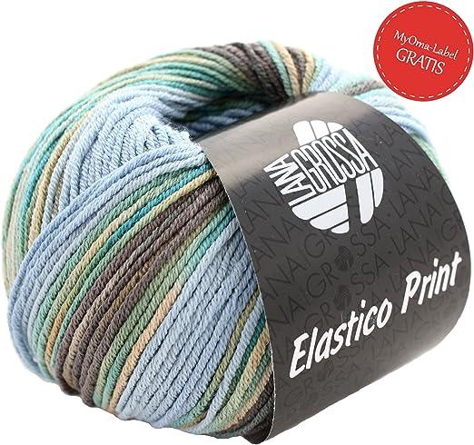 Verano Lana para tejer – tico elástica Print lana Grossa Mix Fb ...