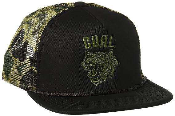 6cf0a4b27 Amazon.com  Coal Men s The Khan Mesh Back Trucker Hat Adjustable ...