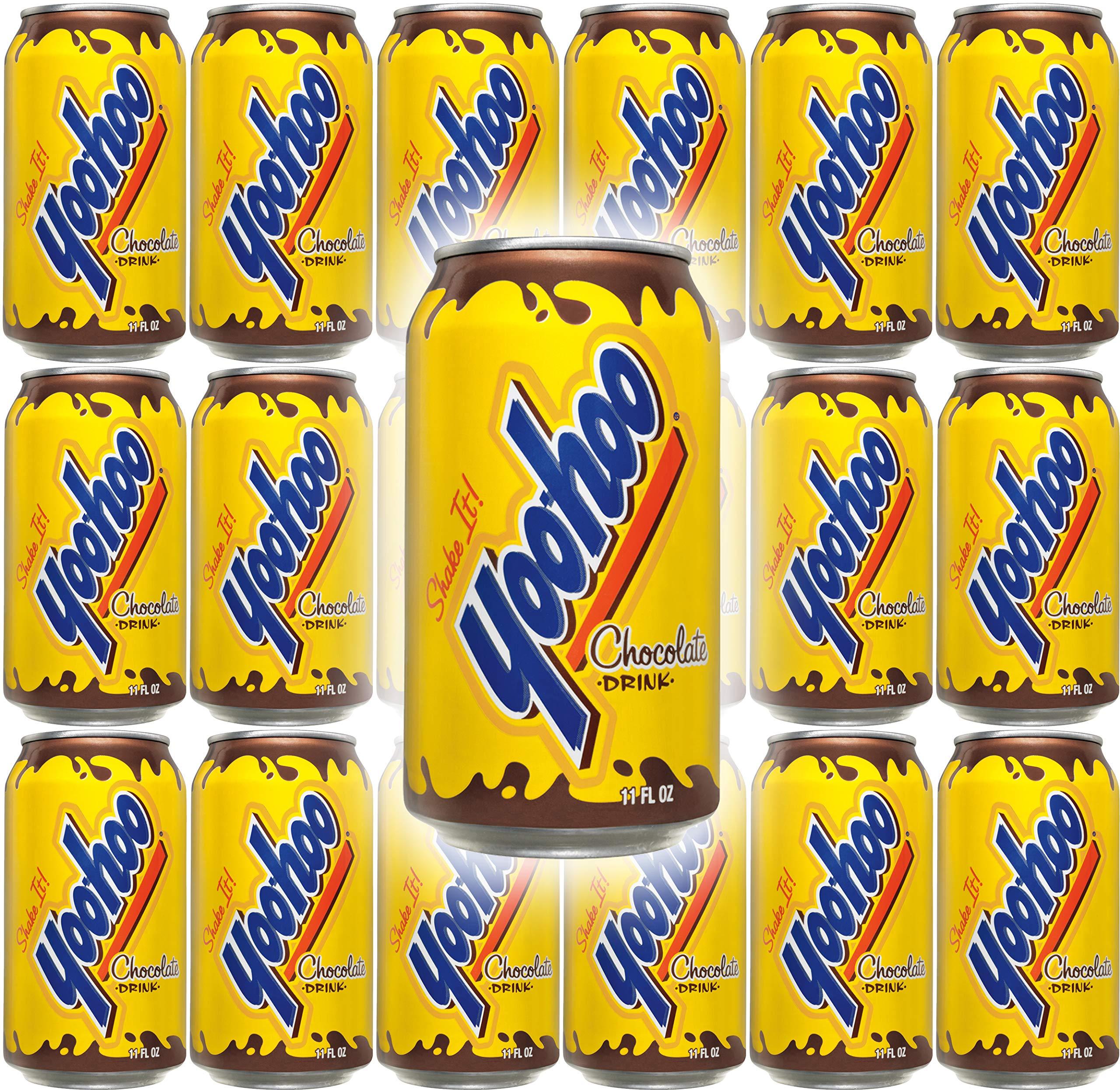 Yoo-Hoo Chocolate Drink, 11 oz Can (Pack of 18, Total of 198 Oz)